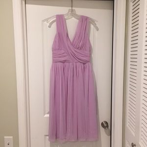 NWT ASOS lavender prom or bridesmaid dress